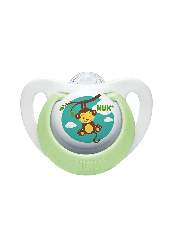 62839 Newborn-Pacifier-Green-Monkey-OOP