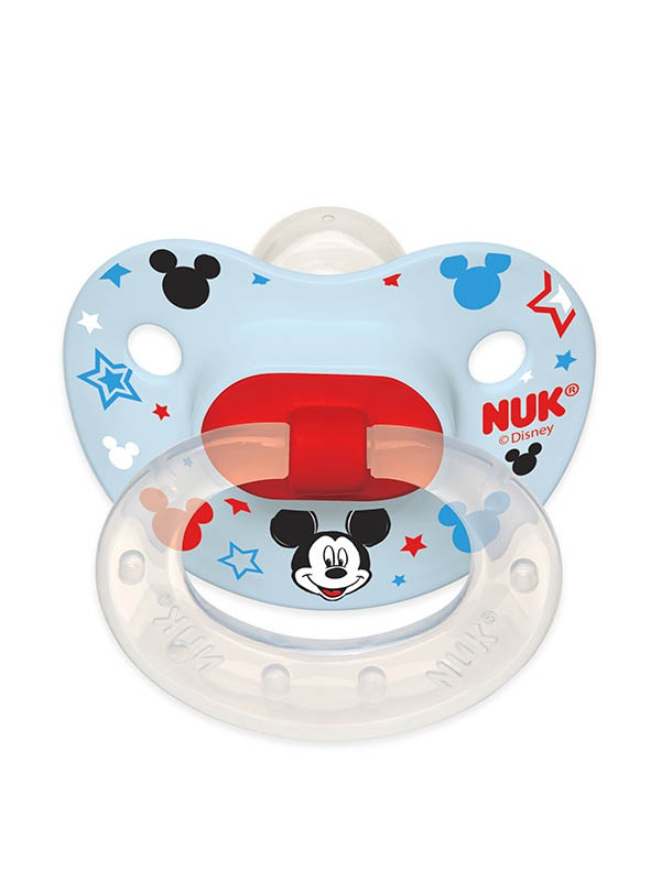 Disney Baby Mickey Mouse and Minnie Mouse Orthodontic Pacifiers