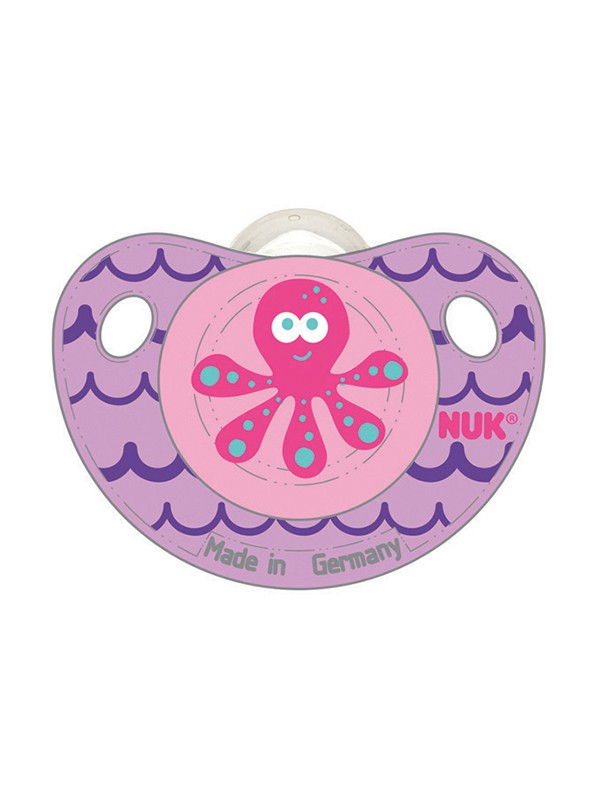 Cute as a Button Orthodontic Pacifier