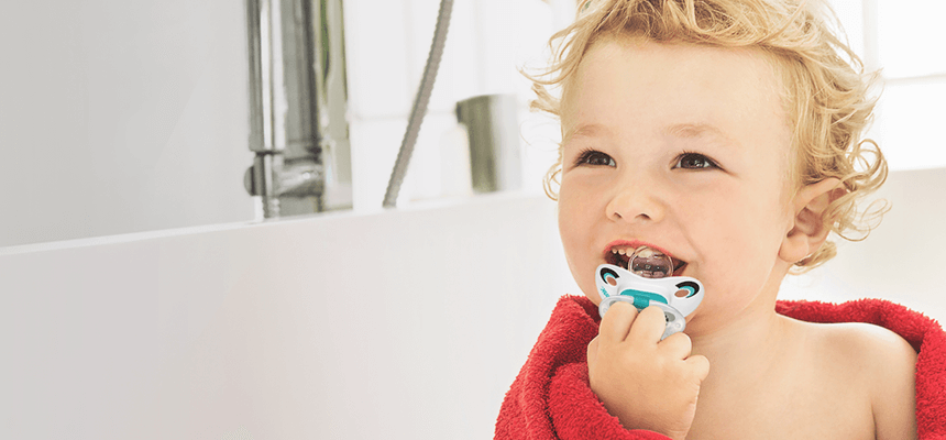 NUK® Pacifiers **are truly orthodontic!